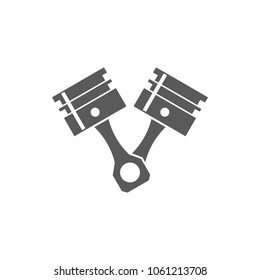 pistons vector icon