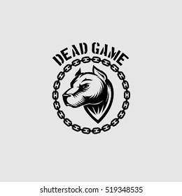 Pit bull dead game dog