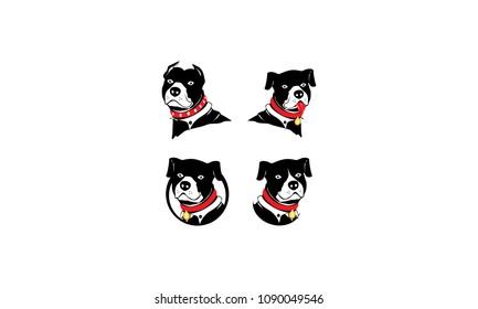 pitbull head logo