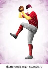 pitch baseball player
