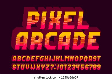 Pixel Font Images, Stock Photos & Vectors | Shutterstock