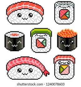 Imágenes Fotos De Stock Y Vectores Sobre Pixel Sushi