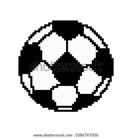 Pixel Art De Footballeur