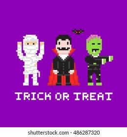 Pixel Vampire Images Stock Photos Vectors Shutterstock