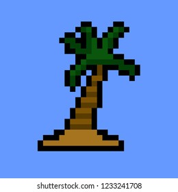 pixel art summe Coconut