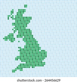 pixel art of United Kingdom (nature)