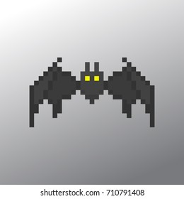 Pixel bat for games and applications