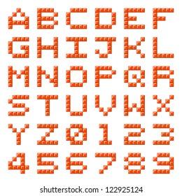 Pixel Block Letters