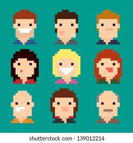 Pixel Faces