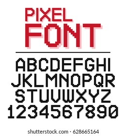 Similar Images, Stock Photos & Vectors of pixel letters of