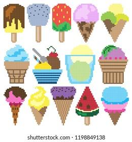 Pixel Strawberry Images Stock Photos Vectors Shutterstock