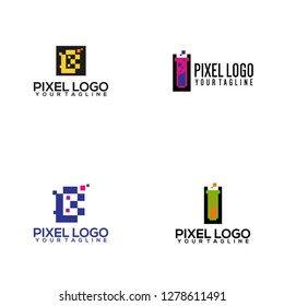 Pixel Logo Template