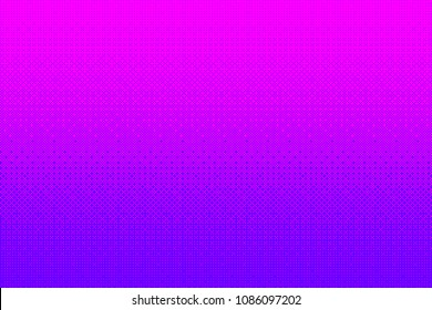 Pixel pattern background in pink, purple color. 8 bit video game vector illustration.