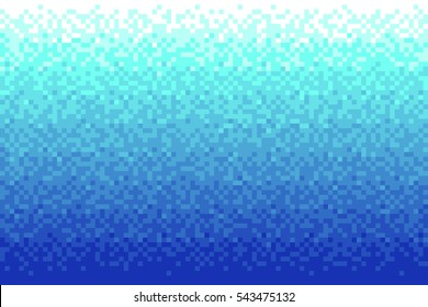 Pixel red gradient background Vector illustration