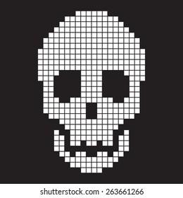 8 Bit Skull Images Stock Photos Vectors Shutterstock