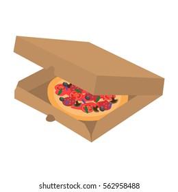 Pizza Box Open Images Stock Photos Vectors Shutterstock