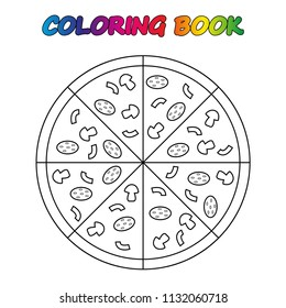 10 Best Pizza Coloring Pages For Your Toddler | 280x260