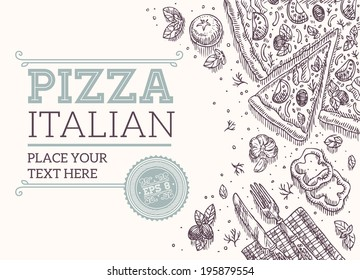 Pizza Frame