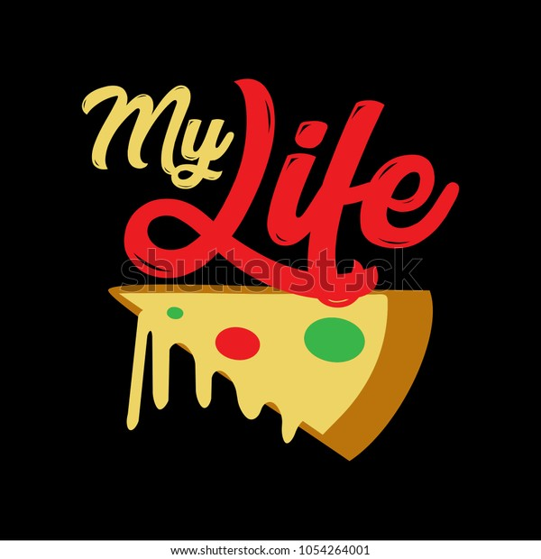 Pizza Funny Saying Quotes 100 Vector Stock Vector (Royalty ...