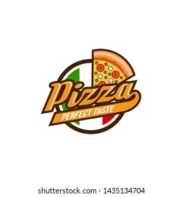 Pizza Logo Images Stock Vector