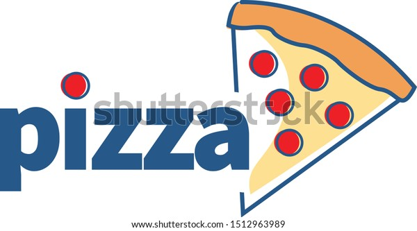 Pizza Slice with Pepperoni for a Pizzeria