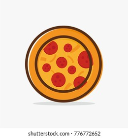 Pizza vector icon design for your business