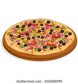 Pizza Vector iImage