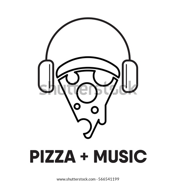 Image result for pizza and music