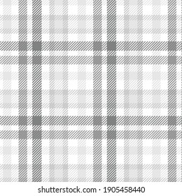 Plaid check patten in brown navy, gray,black and white.Seamless fabric texture for print.