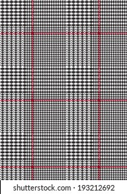 Plaid checkered,dog tooth pattern