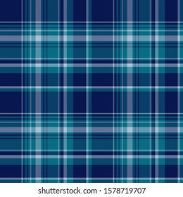 Plaid pattern for print (textile, wrapping, wallpaper). Checkered tartan fabric texture. Symmetric and asymmetric geometric background. EPS10 vector