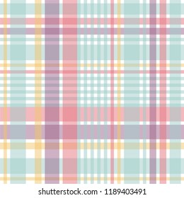 Plaid pattern vector EPS