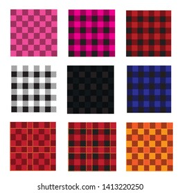 Plaid seamles pattern.tartan.fabric.modern design illustration.
