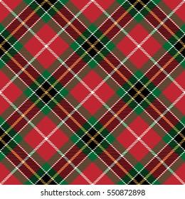 Plaid Tartan Seamless Pattern Background. Traditional Scottish Ornament. Seamless Tartan Tiles. Trendy Vector Illustration for Wallpapers.