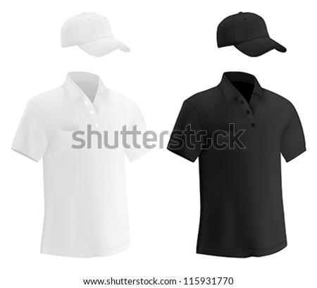Plain Polo Tshirt Template Stock Vector Royalty Free 115931770