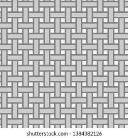 Plain Weave Woven--Seamless Pattern Vector Illustration
