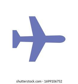 Plane Icon for Graphic Design Projects