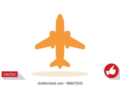 Plane icon vector illustration eps10.