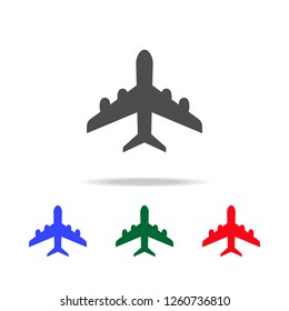 plane  icons. Elements of transport element in multi colored icons. Premium quality graphic design icon. Simple icon for websites, web design
