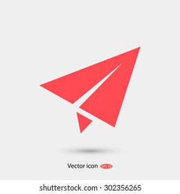 plane vector icon
