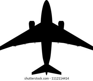 Plane. Vector Illustration