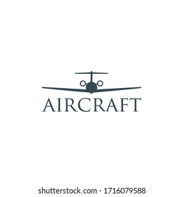 plane vector logo graphic abstract
