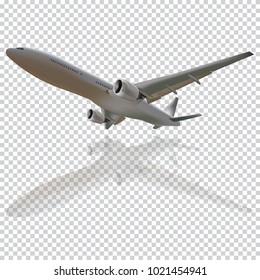 Plane vector, Plane on the transparent background,concept of plane,vector illustration.