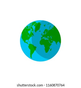 planet earth icon .vector