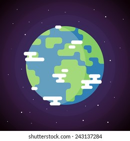Flat Earth Images, Stock Photos & Vectors | Shutterstock