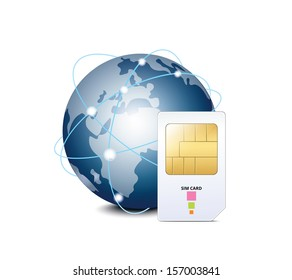 Globe Sim Images, Stock Photos & Vectors | Shutterstock