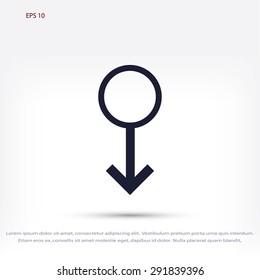 planet symbol icon
