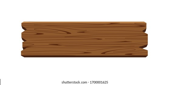 plank signage, wooden plank dark brown isolated on white, wood board horizontal old, empty planks wood, wooden sign for copy space text, wood plank for signage, wood plank cartoon style, vector