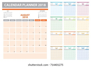 planner with calendar for next year
