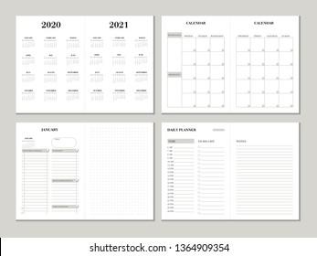 Imágenes, fotos de stock y vectores sobre Planner Printable